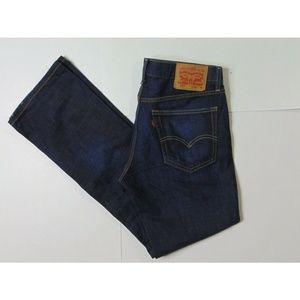 Levi's 527 32 X 32 Boot Cut Blue Jeans Denim Pants
